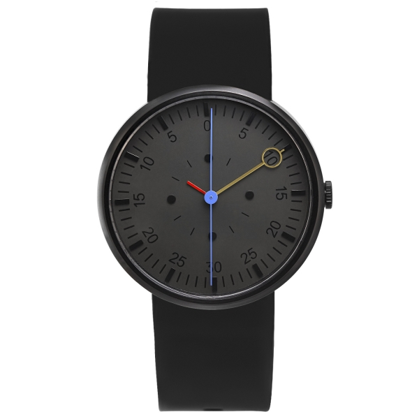 OPTIMEF black sillicone watch
