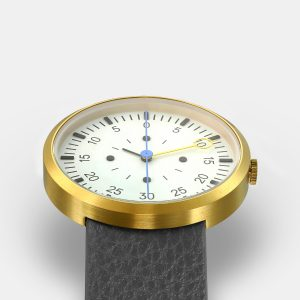 OPTIMEF GOLD grey leather