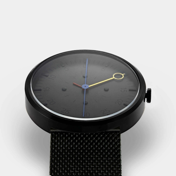 OPTIMEF BLACK milanese mesh