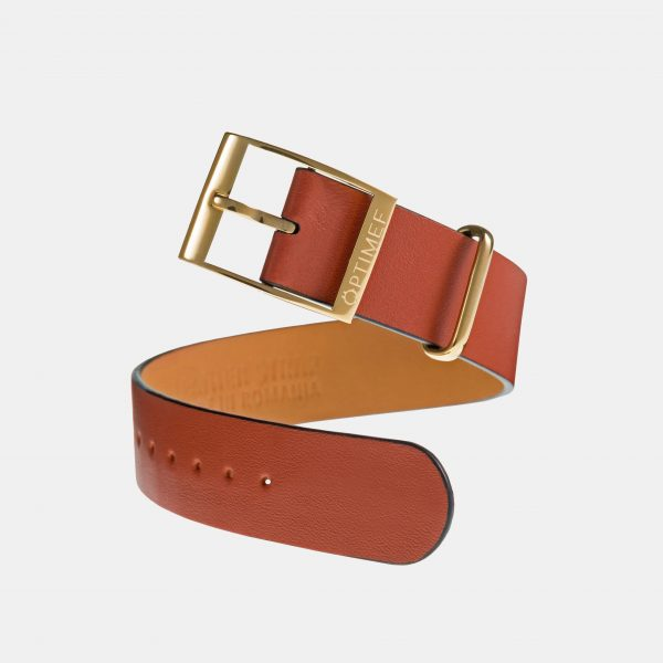 Optimef Victoria rust leather
