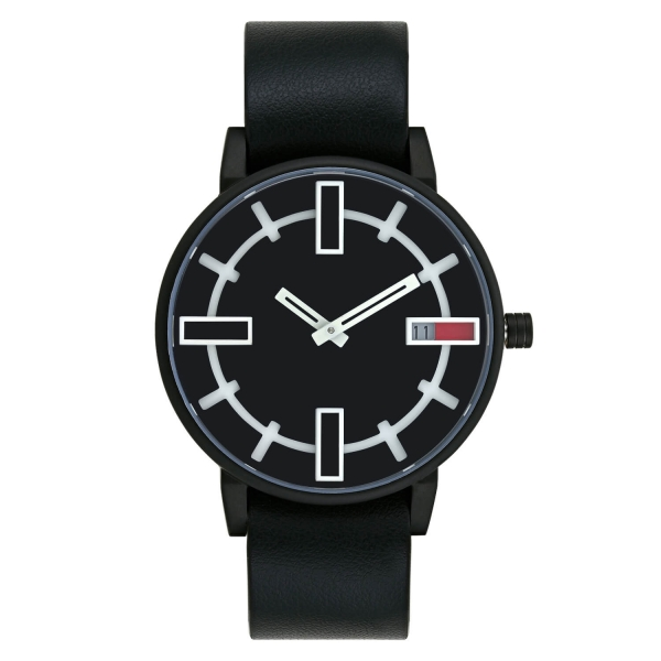 Optimef Victoria Black-black leather