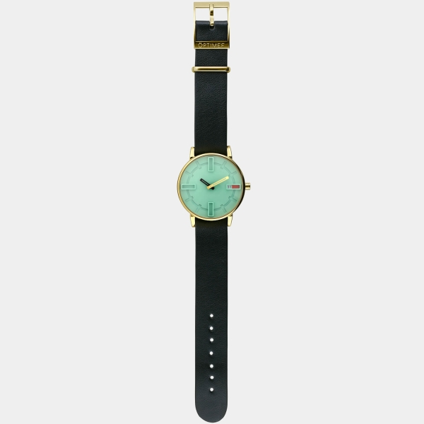 Optimef Victoria Neo Mint-black leather