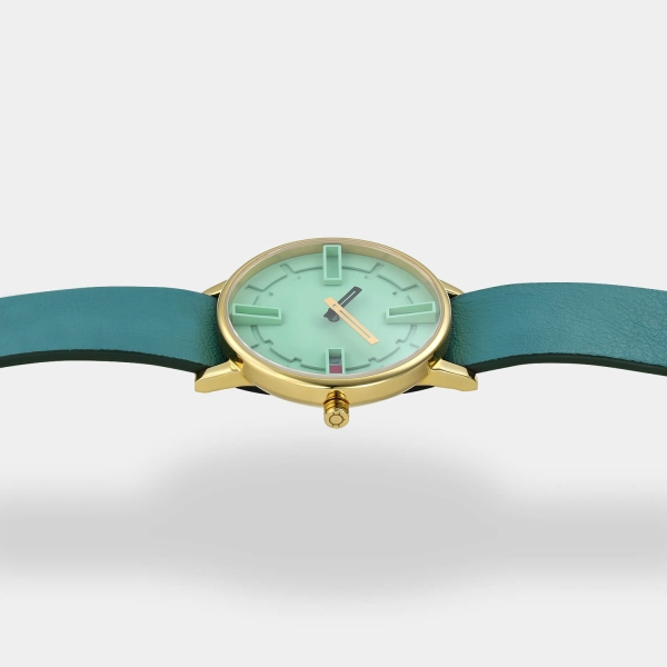 Optimef Victoria Neo Mint-ocean leather