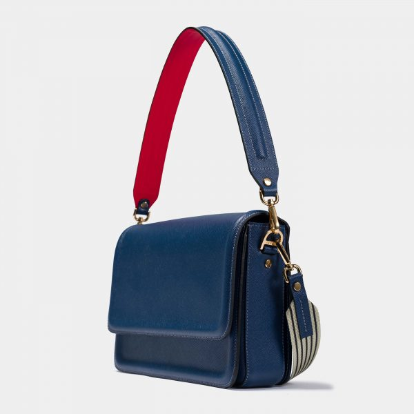 Navy Blue Geanta Optimef Postman