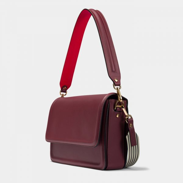Burgundy Geanta Optimef Postman